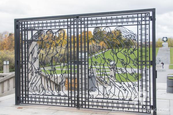 Verjas del Parque de Vigeland