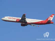 Airbus A321-200 (D-ABCF) Air Berlin