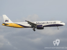 Airbus A321-231(G-OZBT) Monarch Airlines