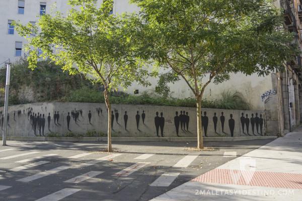 Arte urbano en Bilbao La Vieja