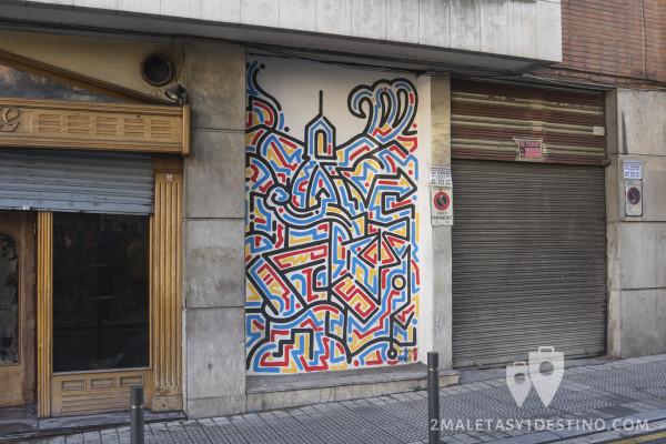 Arte urbano en Bilbao de Yoon Hyup