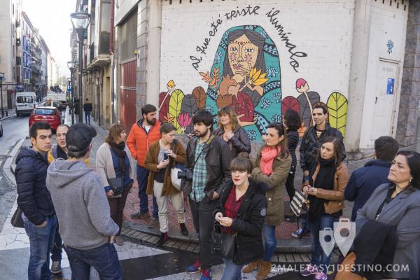 Arte urbano en Bilbao y bloggers