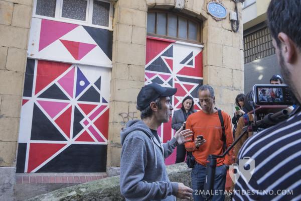 Arte urbano y abstracto en Bilbao