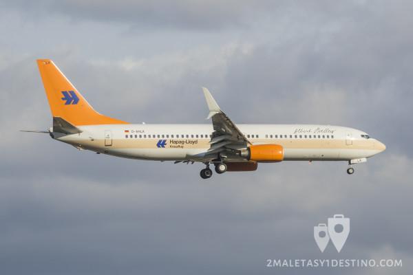 Boeing 737-4K5 (D-AHLK) Hapag-Lloyd