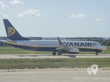 Boeing 737-8AS(WL) (EI-EBS) Ryanair