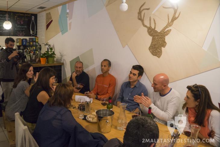 Comida en el bar Tokken de Bilbao