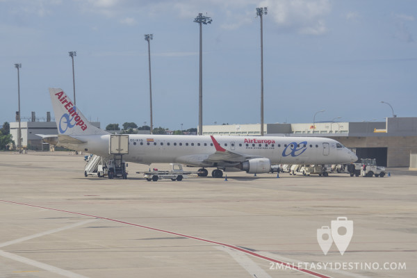 Embraer ERJ-195LR (EC-KYO) Air Europa
