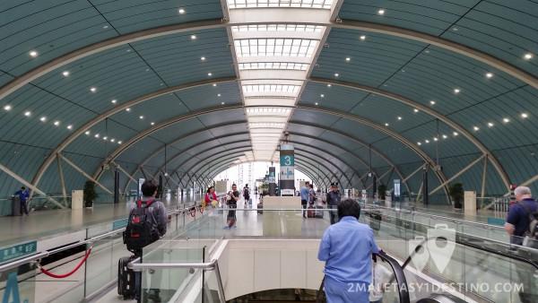 Estación del Maglev Shanghai Transrapid en Longyang Road