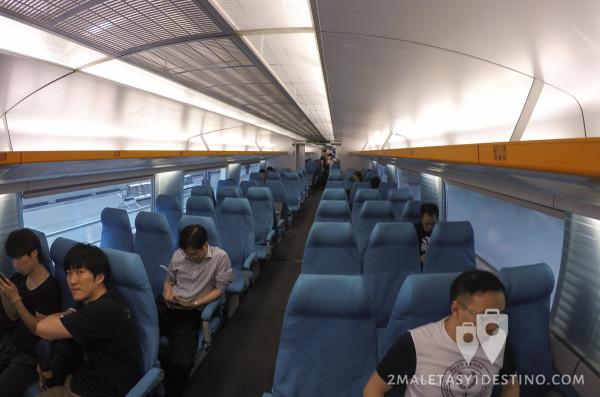 Vagón del Maglev