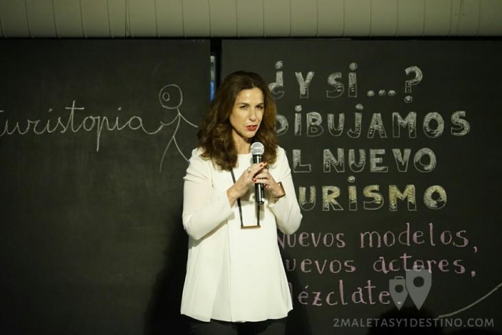 Natalia Zapatero en Turistopía 2015