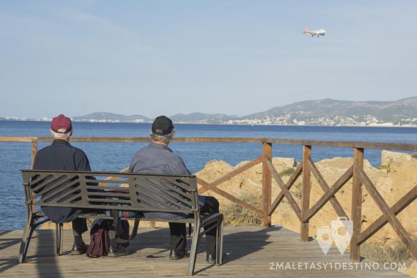 Spotters senior en el Aeropuerto Mallorca 1