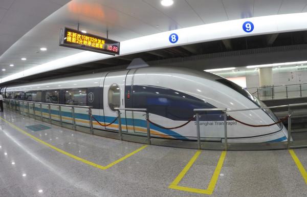 Tren Maglev levitación magnética Shanghai