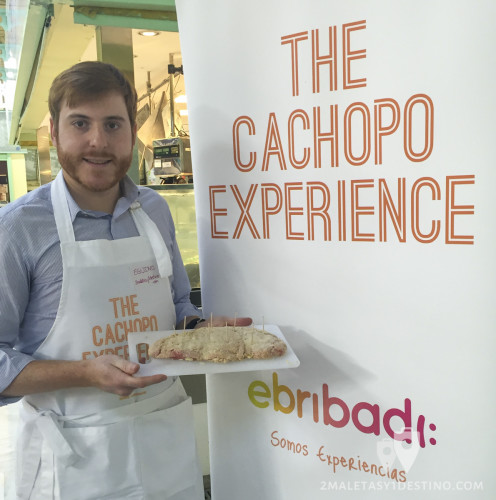 Alfonso Eguino en The Cachopo Experience