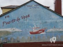 Mural Puerto de Vega