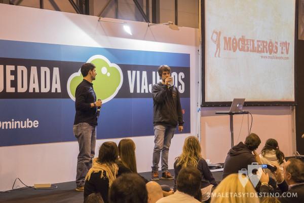 Alberto e Iosu de Mochileros TV #QuedadaFitur