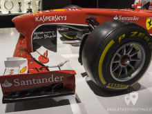 Alerón delantero del Ferrari F138