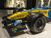 Alerón delantero del Renault R26