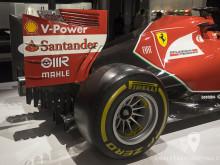 Alerón trasero del Ferrari F138