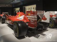 Alerón trasero del Ferrari F2012