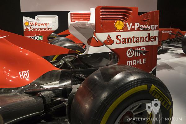 Alerones traseros de Ferrari