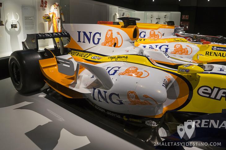 Aleta de tiburón del Renault R28