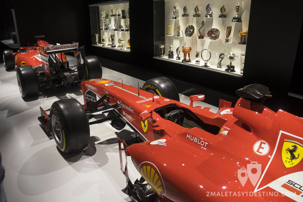 Cockpit de Ferrari