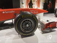 Delantera del Ferrari 150º Italia