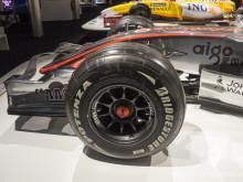 Delantera del McLaren MP4-22