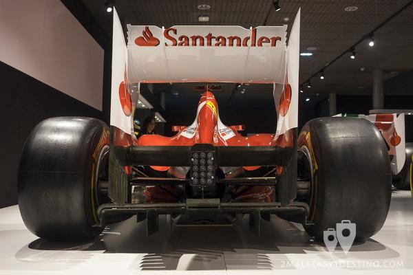 Difusor del Ferrari F2012