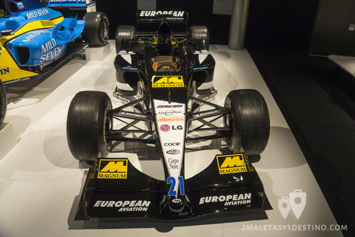 European Minardi PS1 de Fernando Alonso