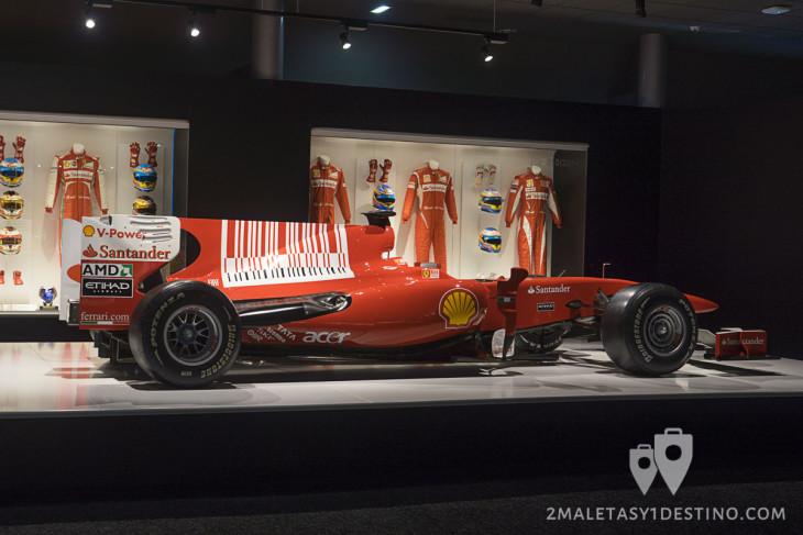 Ferrari F10 (Museo Fernando Alonso)