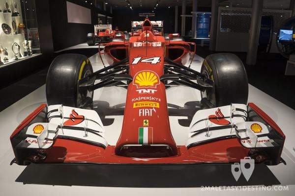 Frontal del Ferrari F14 T