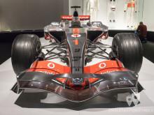 Frontal del McLaren MP4-22