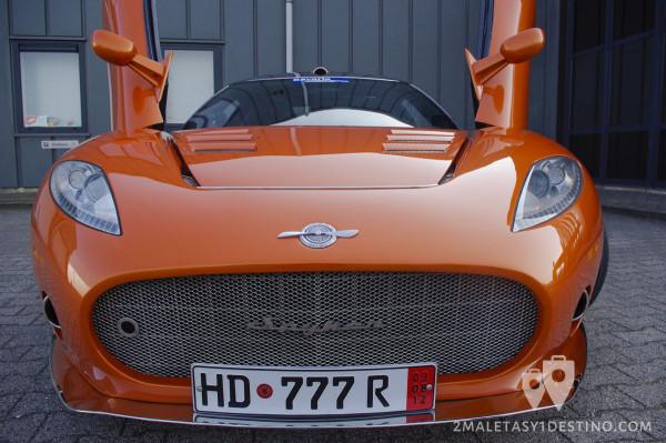 Frontal del Spyker C8 Aileron