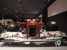 Frontal morsa del Ferrari F2012