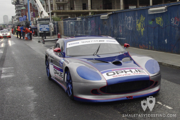 Ginetta G50 drifting