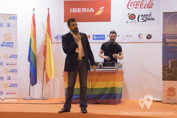 Juan Pedro Tudela organizador de Fitur Gay LGBT