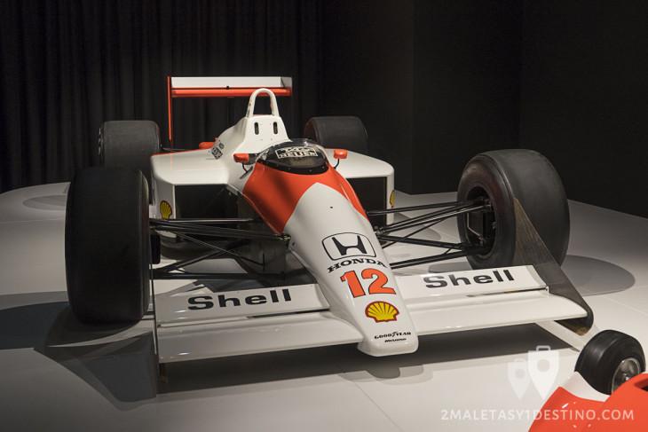 McLaren MP 4/4 de Ayrton Senna