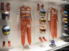Monos y cascos de Fernando Alonso en Ferrari