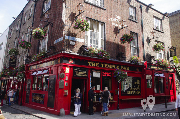 The Temple Bar en Dublín