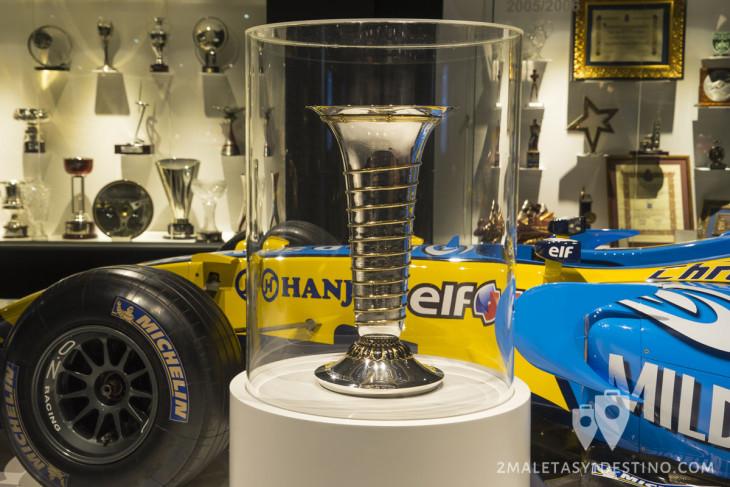 Trofeo de Campeón del Mundial de Fórmula 1