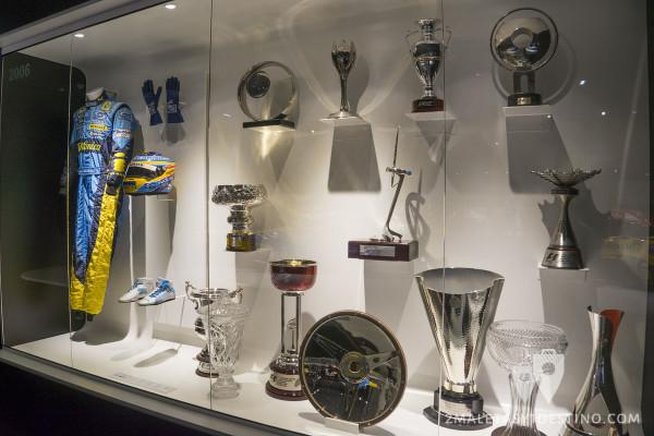 Trofeos de Fernando Alonso en 2006 Formula 1