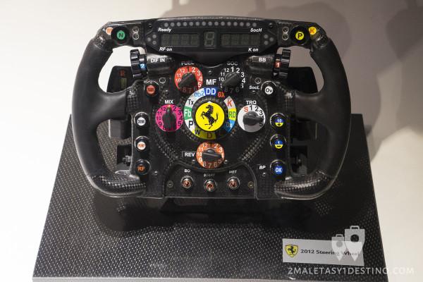 Volante del Ferrari 150º Italia