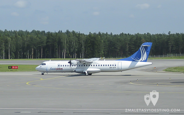 ATR 72 (OH-ATF) Finncomm Airlines