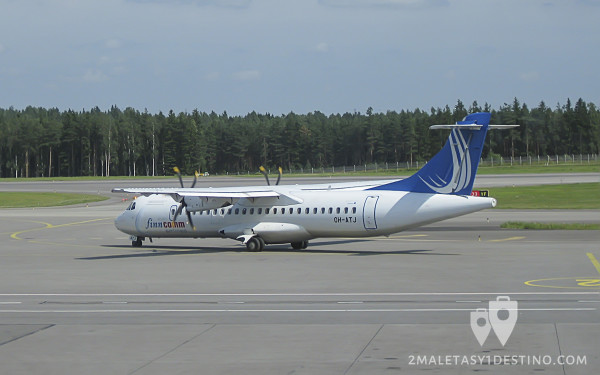ATR 72 (OH-ATJ) Finncomm Airlines