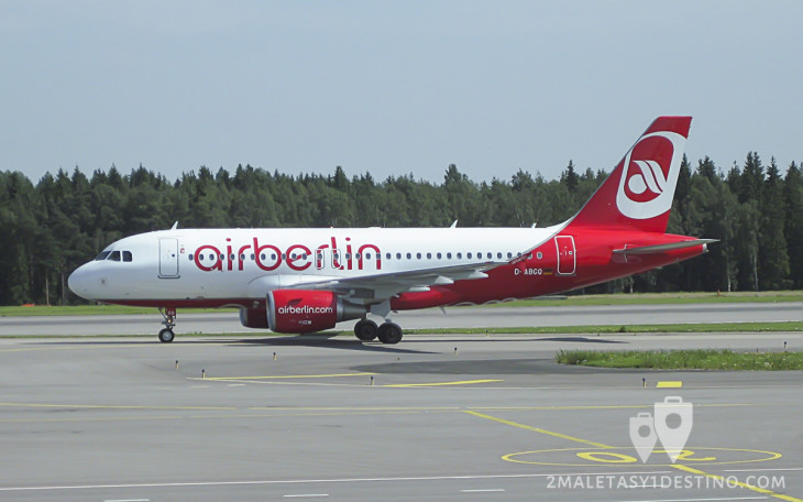 Airbus A319-100 (D-ABGQ) Air Berlin