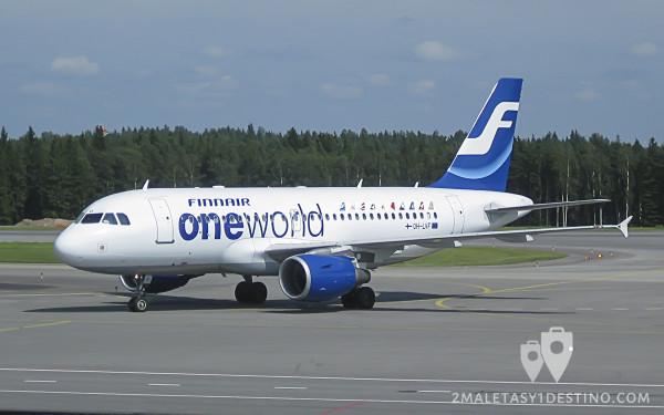 Airbus A319-100 (OH-LVF) Finnair