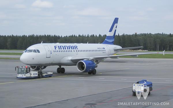 Airbus A319-100 (OH-LVK) Finnair