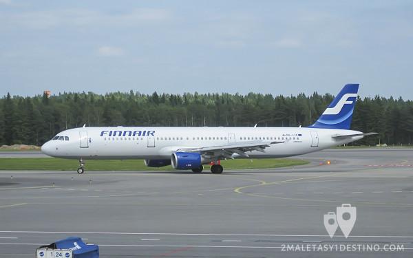 Airbus A321-200 (OH-LZE) Finnair