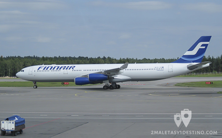 Airbus A340-300 (OH-LQD) Finnair